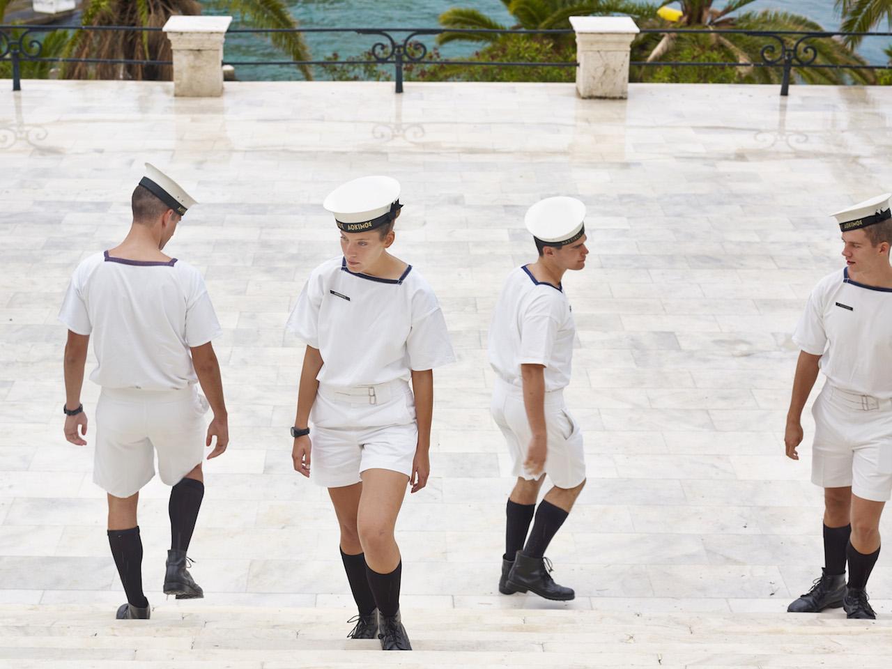 Accademia Navale Ellenica, Pireo Grecia - Cadetti di Paolo Verzone.
