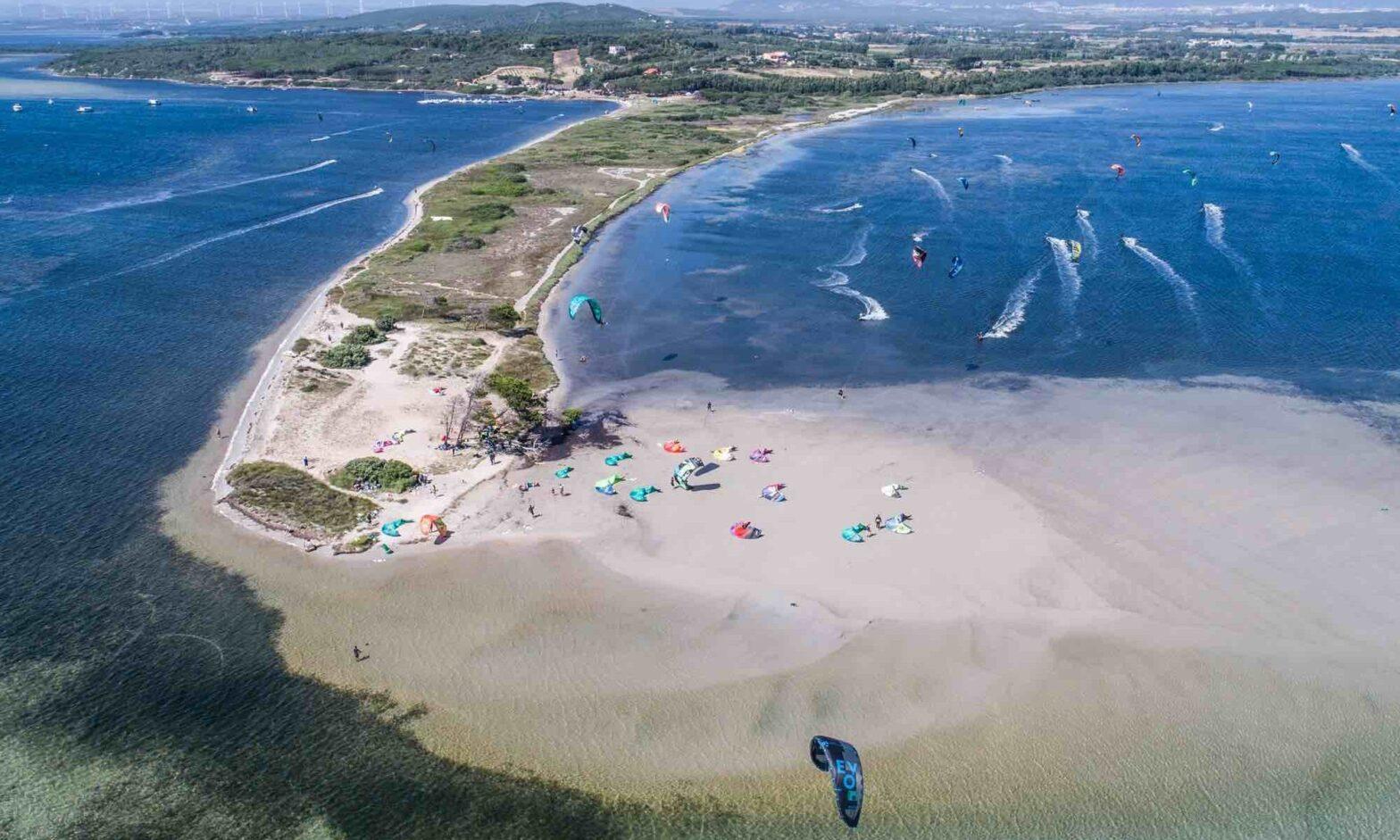 KItesurfing Punta Trettu