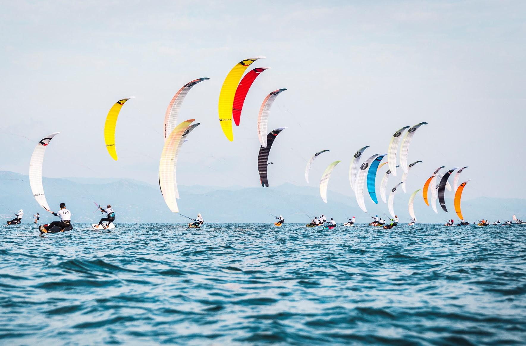 Kitesurfng in Cagliari, Sardinia
